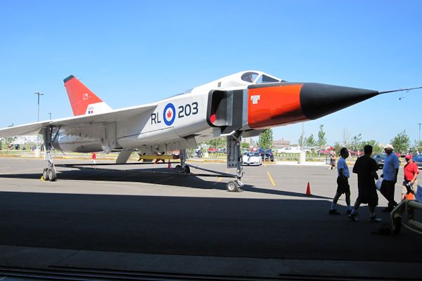 Avro Arrow 203 Replica 600px