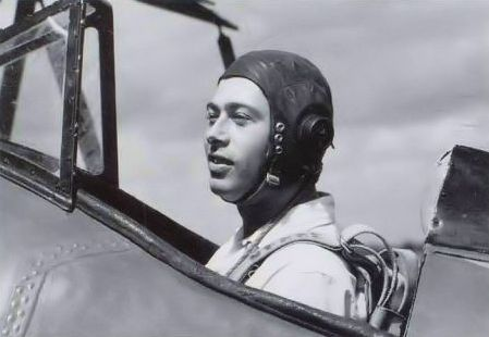 A youthful Russ Norman in the cockpit of his Waco UPF-7, CF-JAU. NORMAN COLLECTION