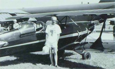 Russ test flew Ben Keillor's trim and economical Jodel D-9, CF-RAM. J. McNULTY.