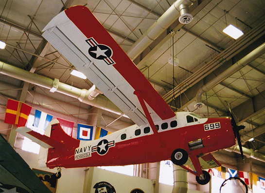 U.S. Navy de Havilland Canada NU 1B Otter at the National Naval Aviation Museum Pensacola Gord McNulty