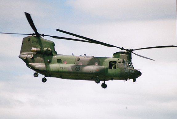 CH 147F Chinook Gord McNulty