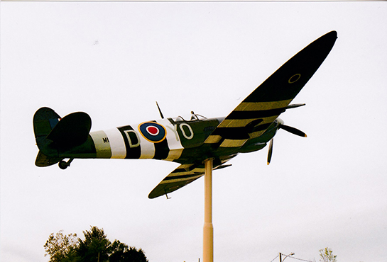 3 Essex Memorial Spitfire in honour of Jerry Billing Oct 3 2015 G McNulty