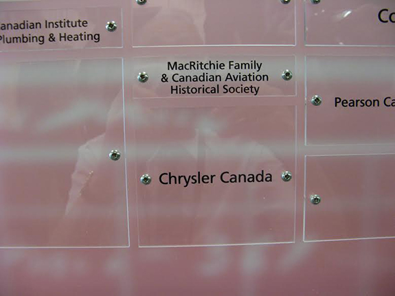 Donor Wall at Centennial College Photo Credit Sheldon Benner 575