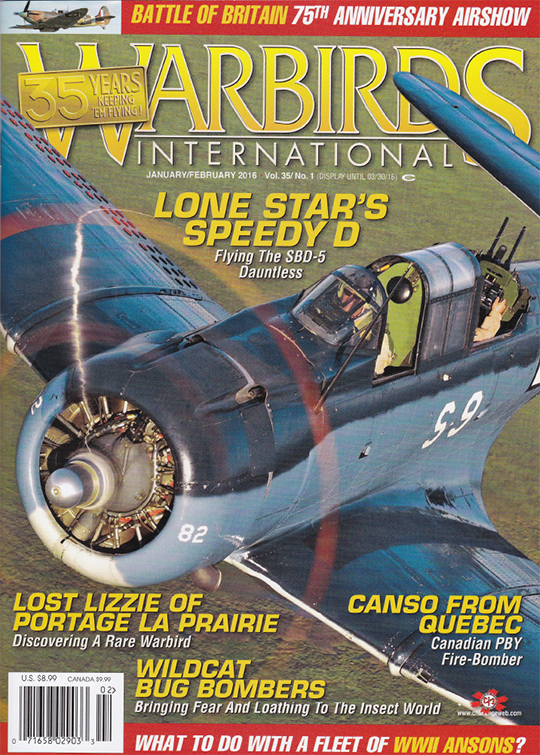 Warbirds International JanFeb2016
