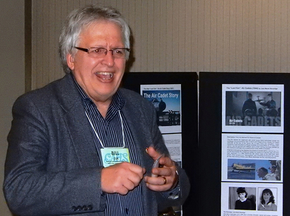 Bill Zuk of the Manitoba chapter