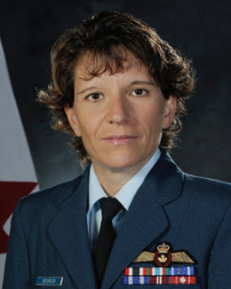 Brigadier General Lise Bourgon
