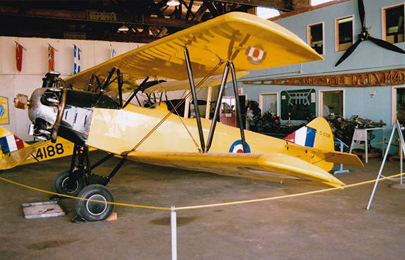 Fleet Finch C GTOB at the CATP Museum