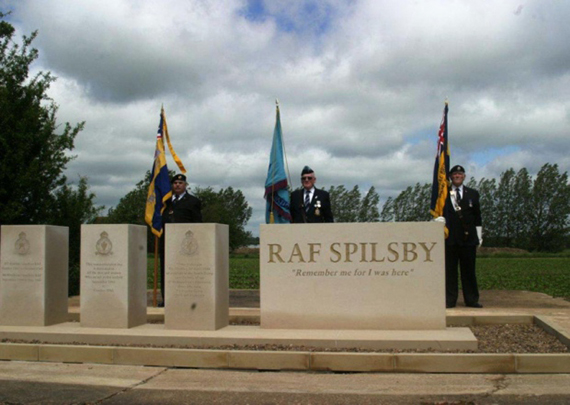 RAF Spilsby Airfield memorial