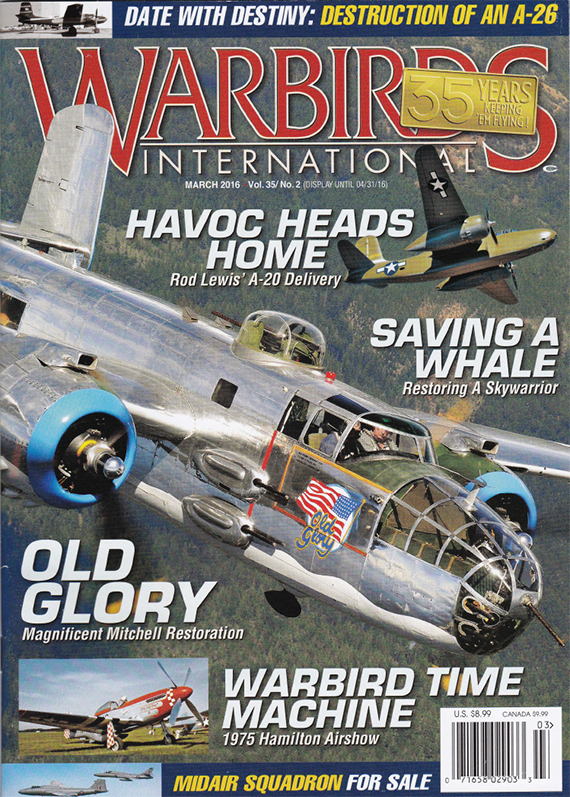 Warbirds International March 2016