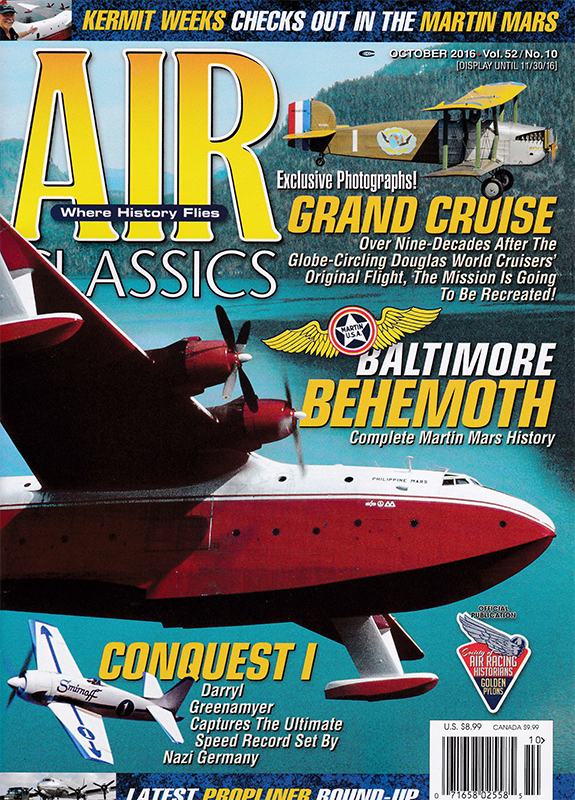 October 2016 issue of Air Classics