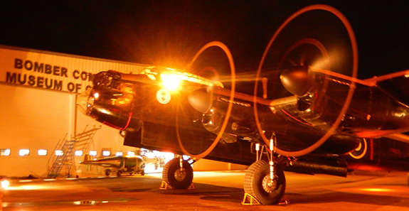 05 Lancaster at night
