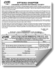 Ottawa Registration Form