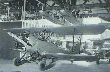 The Waco UPF-1 newly restored after its accident in Detroit. NORMAN COLLECTION