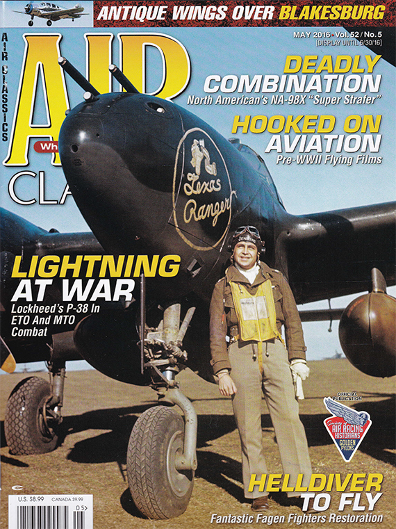 Air Classics May 2016 issue