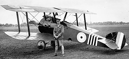Barker and Sopwith Camel