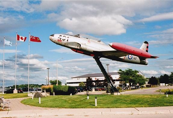 Ex RCAF Canadair Silver Star (G McNulty)
