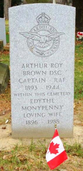 Roy and Edythe Brown marker