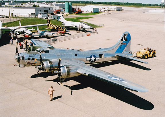 The Commemorative Air Force B 17G Flying Fortress