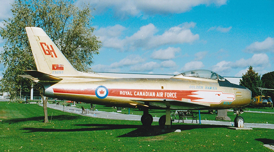 Canadair Sabre Mk V 23257 at National Air Force Museum of Canada Oct 20 2013