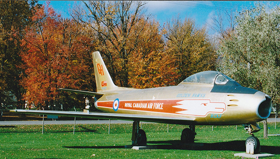 National Air Force Museum of Canada Sabre Mk V 23257 Trenton Oct 20 2013