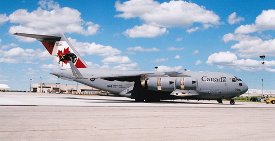 RCAF CC 177 Globemaster III of 429 Bison Transport Squadron