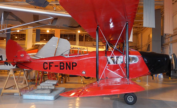 restored de Havilland Fox Moth