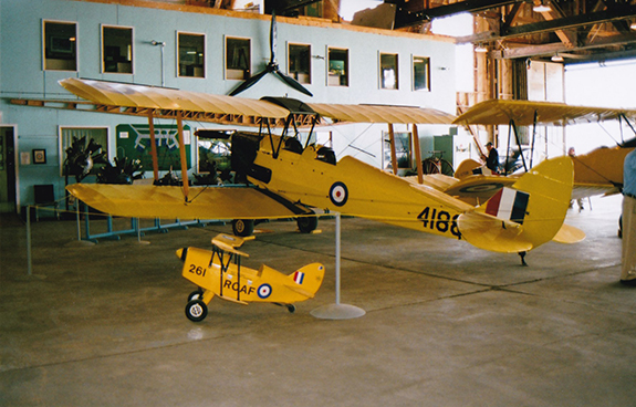 The CATP Museum Tiger Moth CF JNF 4188