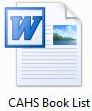 Word Book List icon