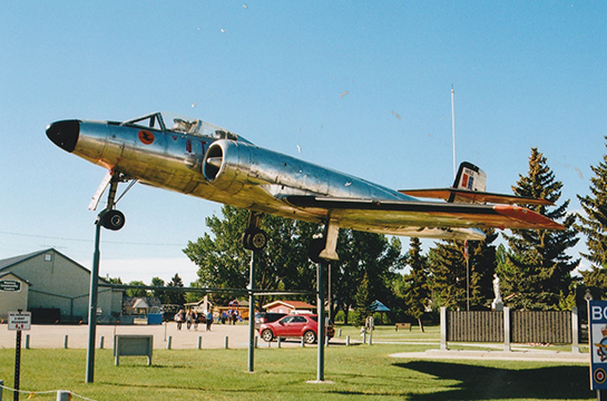 CF 100 Mk 3 18152 makes an impressive display at the Bomber Command Museum of Canada G McNulty