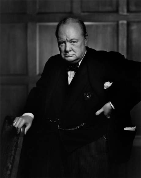 Winston Churchill by Karsh feature