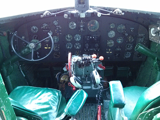 7 A 2 Cockpit 3 GHX 2015 Courtesy North Atlantic Aviation Museum
