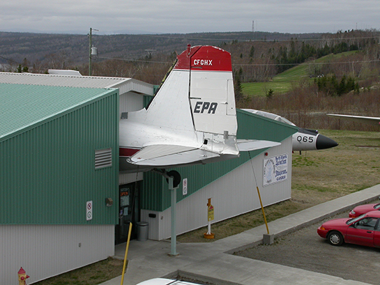 7 A 6 Tail of GHX Courtesy North Atlantic Aviation Museum