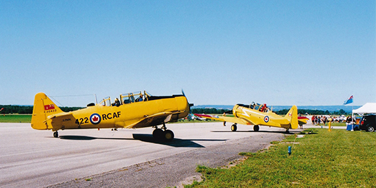 Two Harvards at Edenvale 545